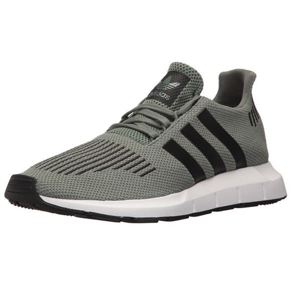 3dcf008b6cd MEN Adidas Swift Running Shoe Trcame Black White